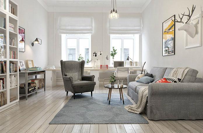 Jasno i przytulnie – skandynawskie pomieszczenia, w których chce się żyć!