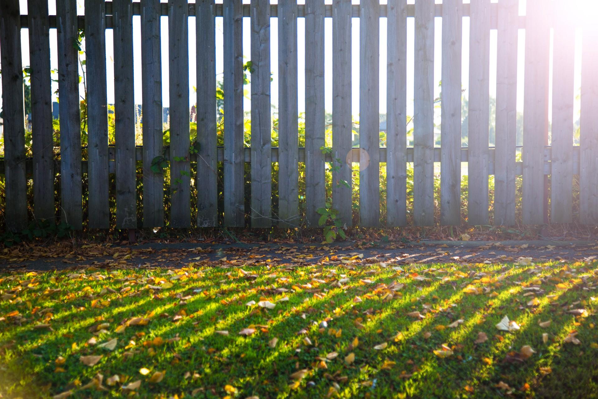 Panele drewniane ogrodowe