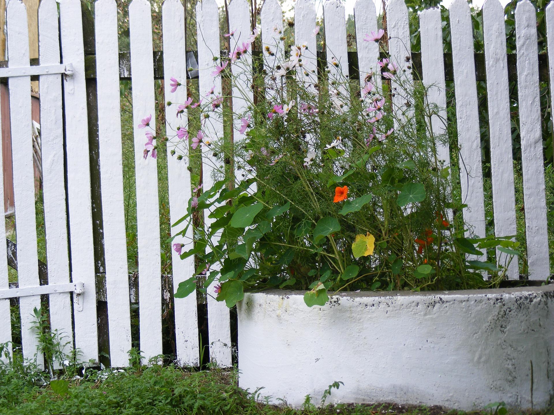 Panel ogrodzeniowy drewniany