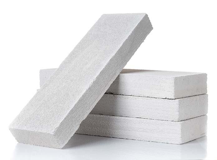 Ściana z bloczków z betonu komórkowego