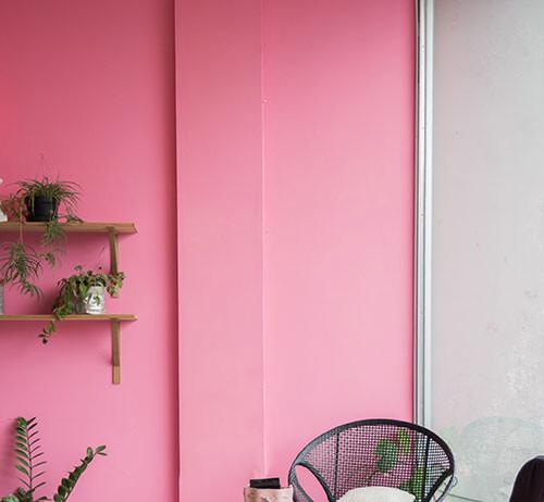 różowy pokoik